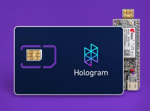 hologram microchip SIM card