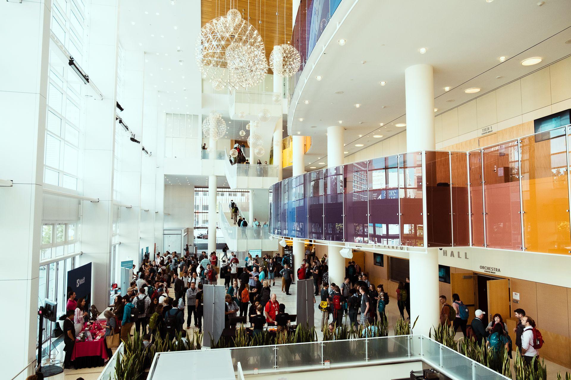 main lobby at front conference salt lake city