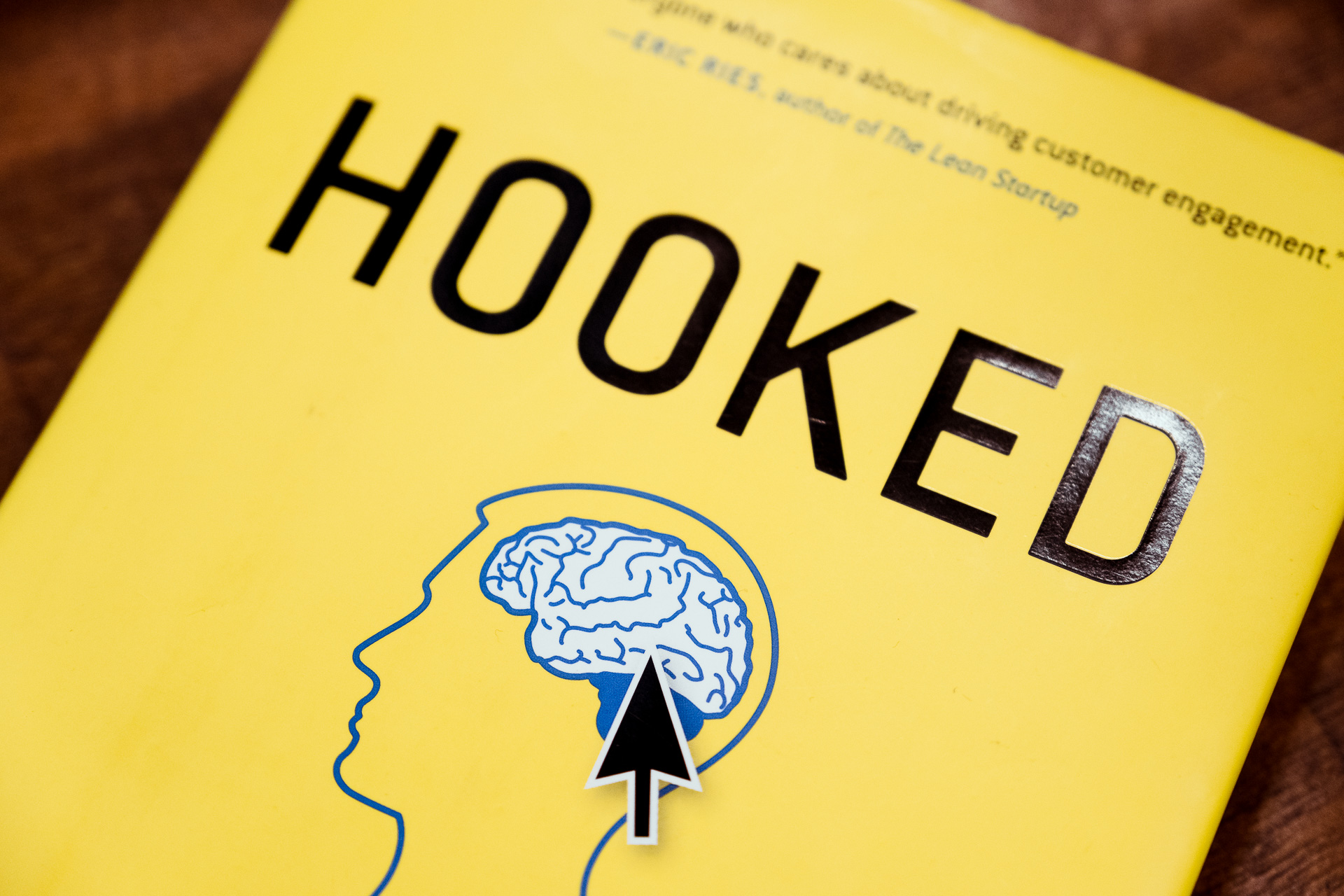 front cover of hooked book by Nir Eyal