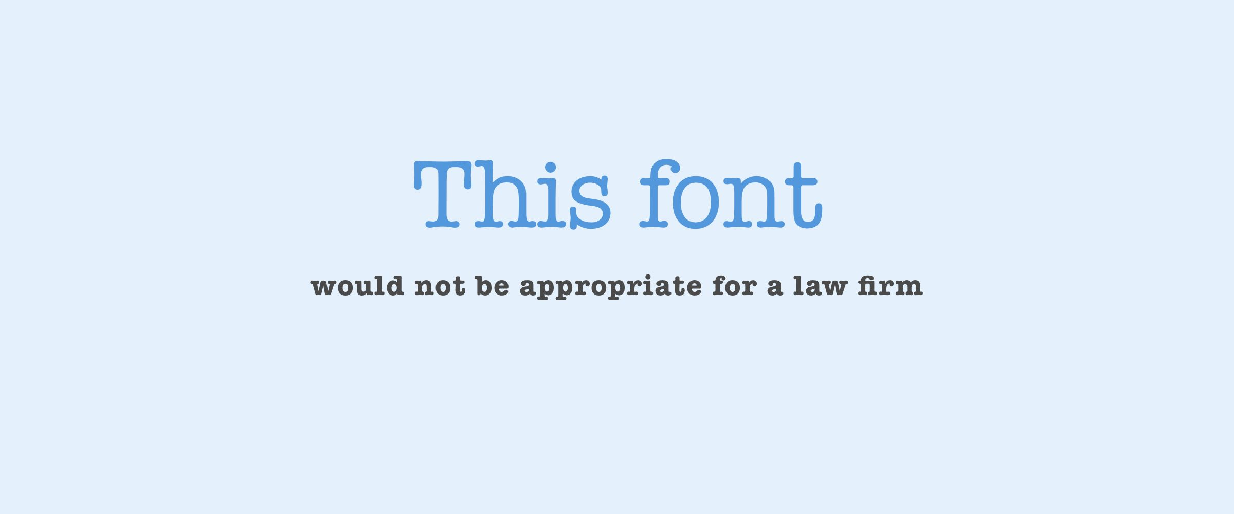 Choose The Right Font with Context