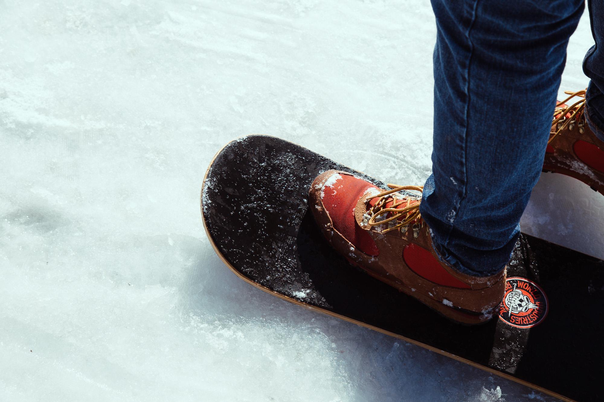 Snow skates