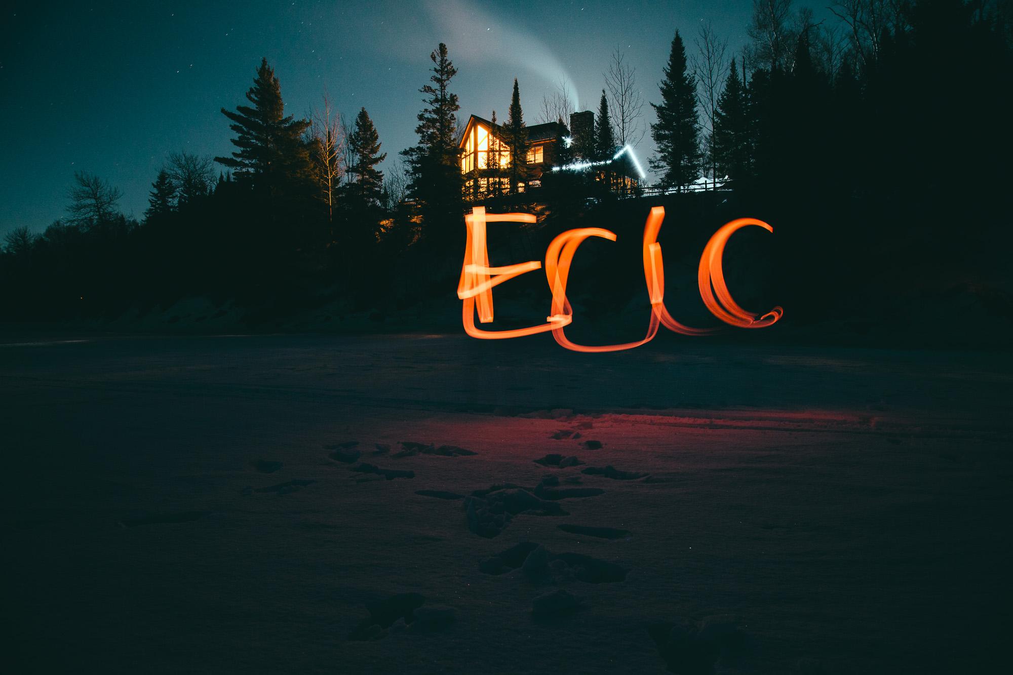 Eric light painting