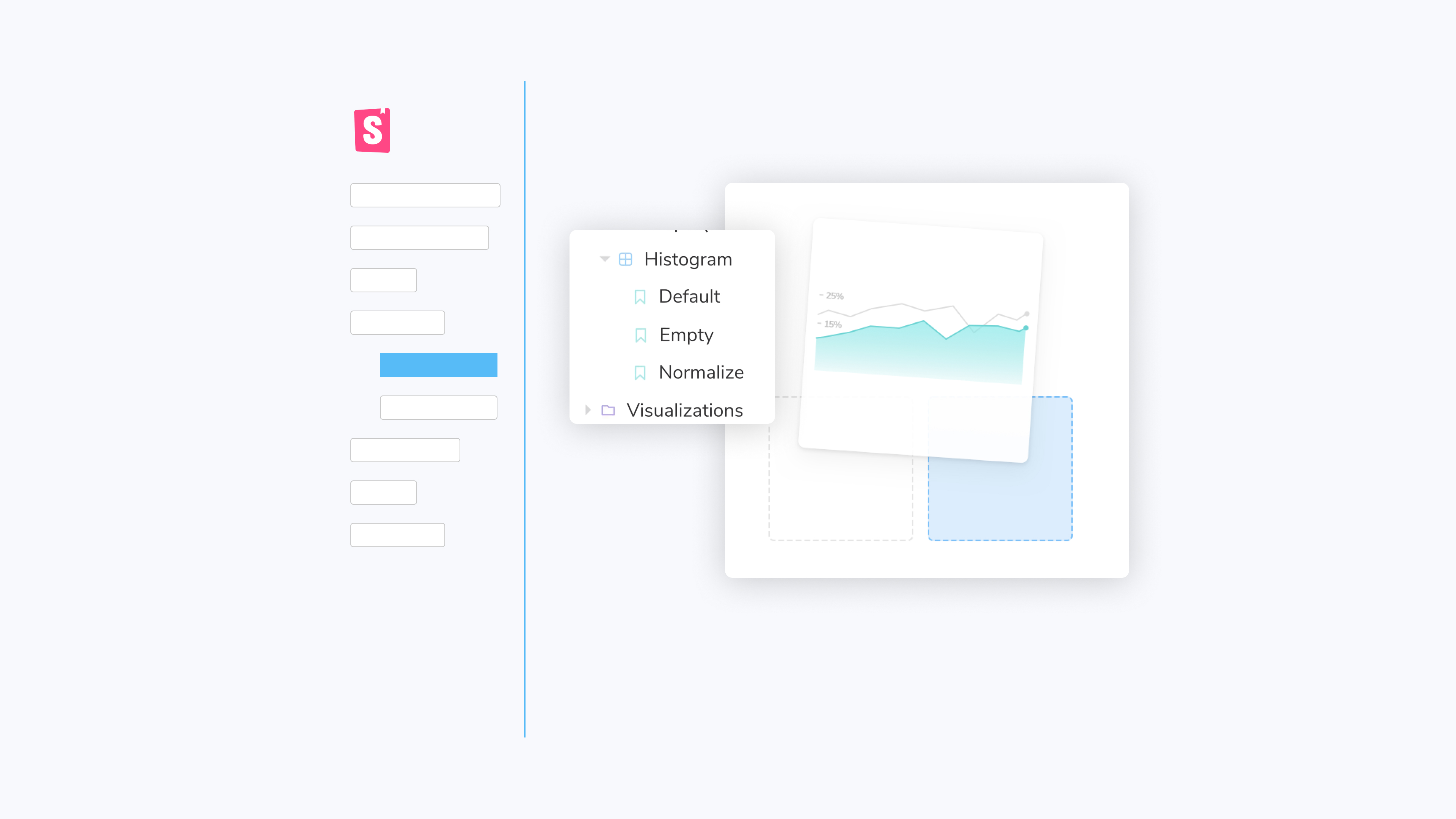 minimal user interface elements