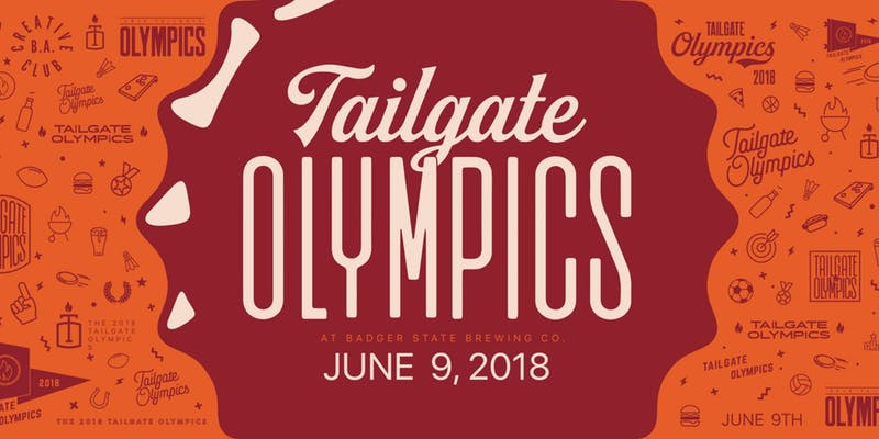2018 tailgate olympics promotional graphic