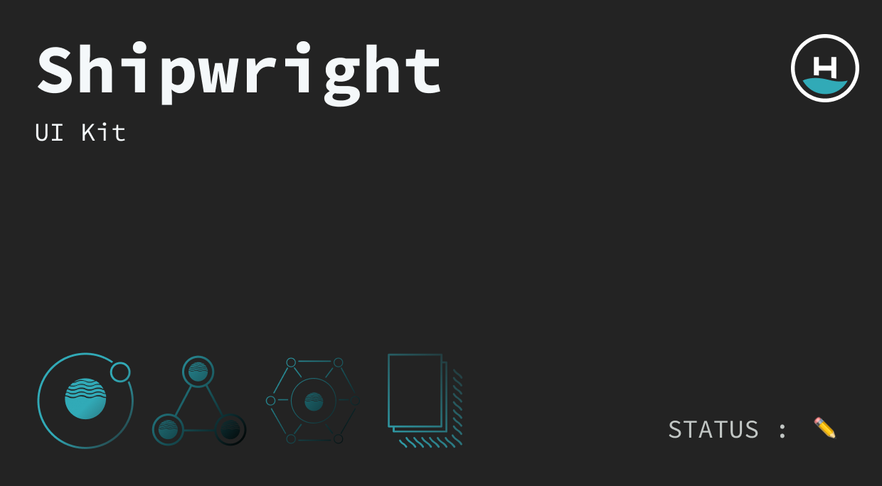 graphic cover for shipwright UI kit