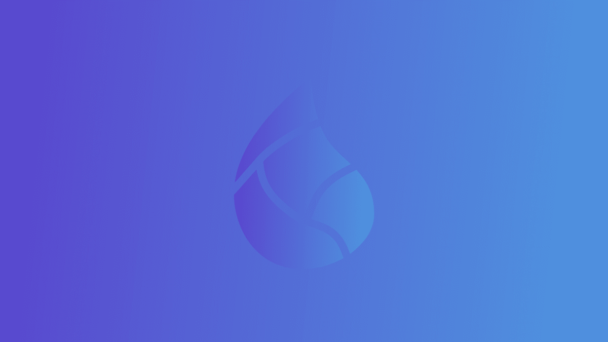 elixir logo over gradient blue background