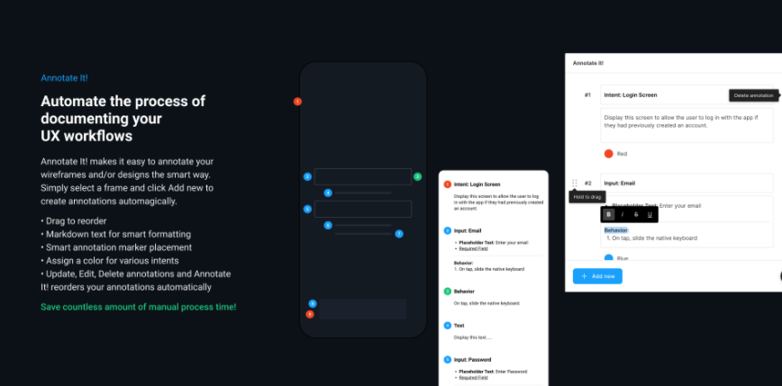 promo graphic for annotate it plugin for Figma