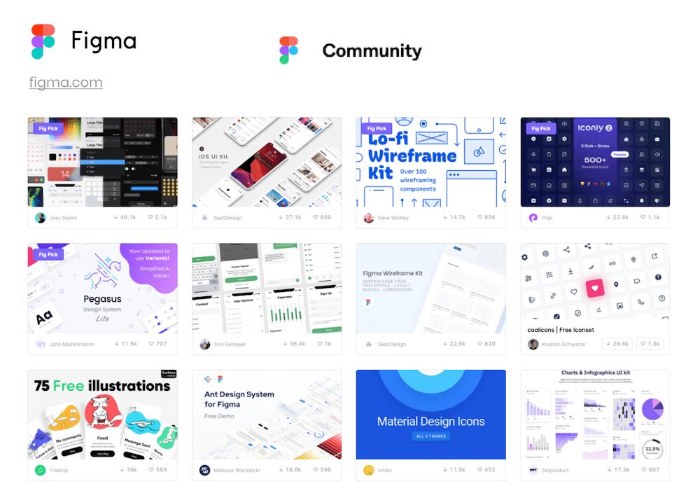 figma community screenshot