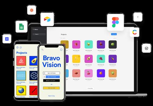 bravo studio app examples