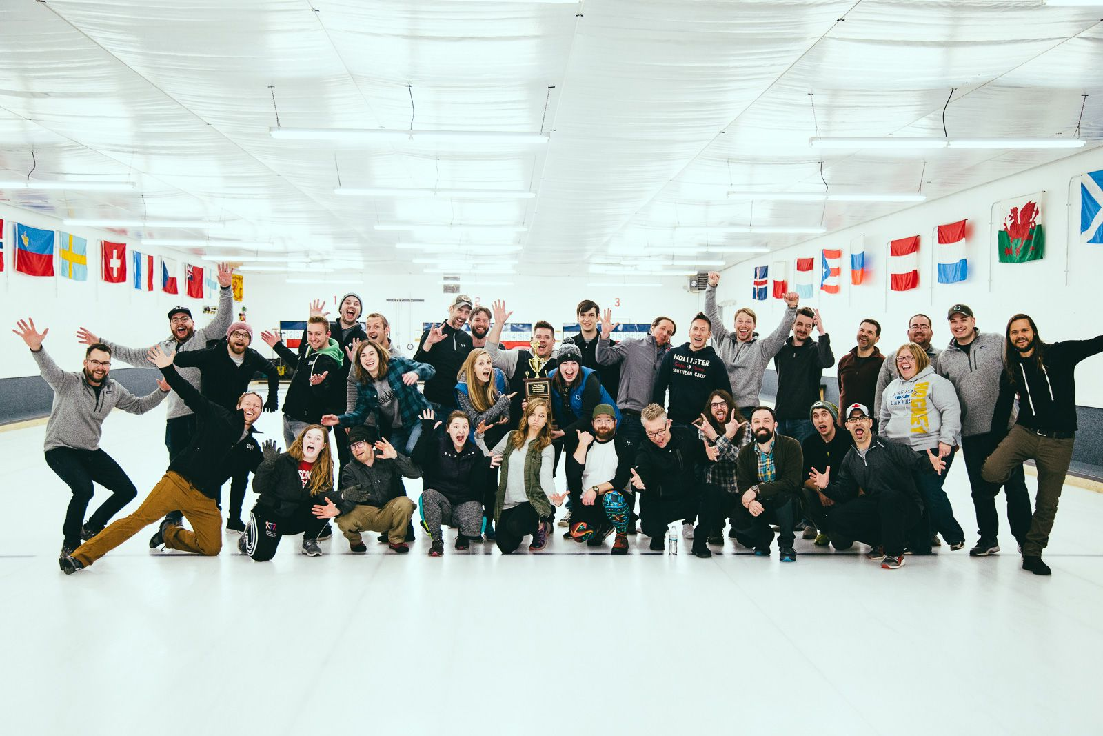 Bay Area Creative Club curling event