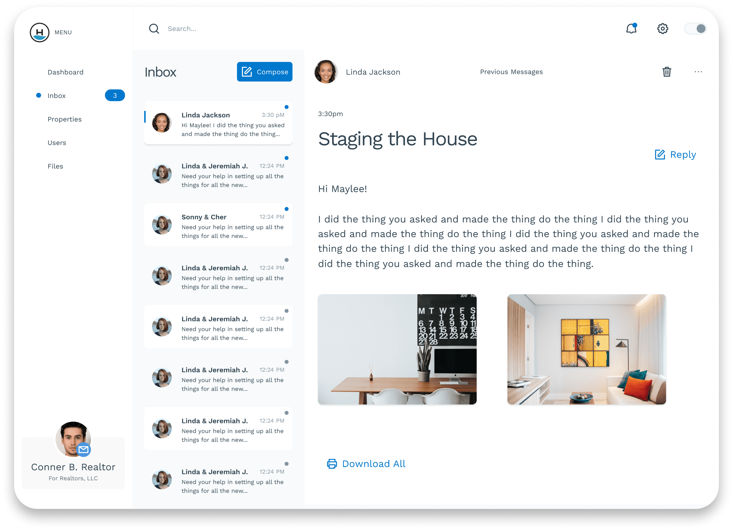 Shipwright UI Kit desktop app screenshot