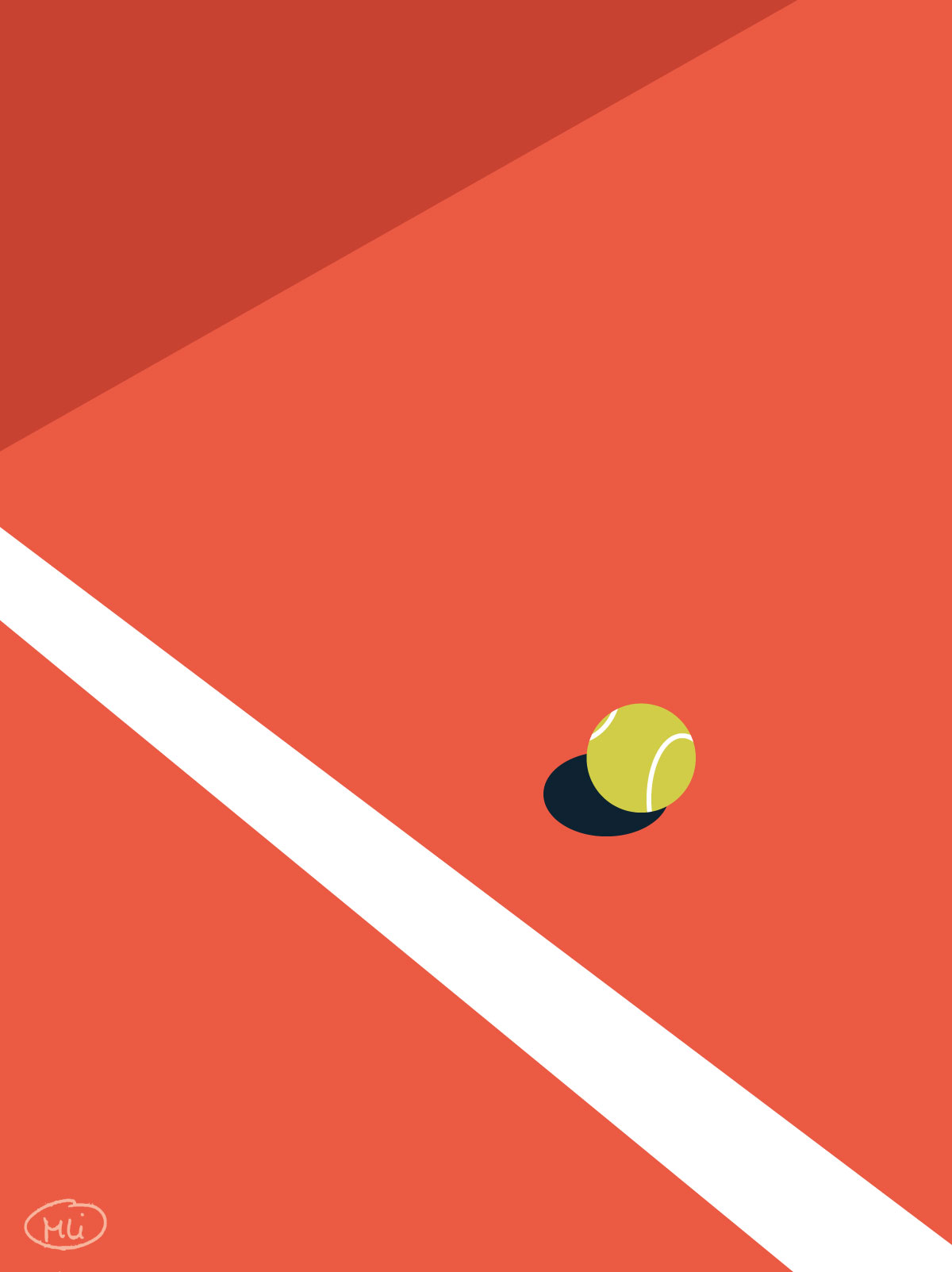 Roland Garros illustration