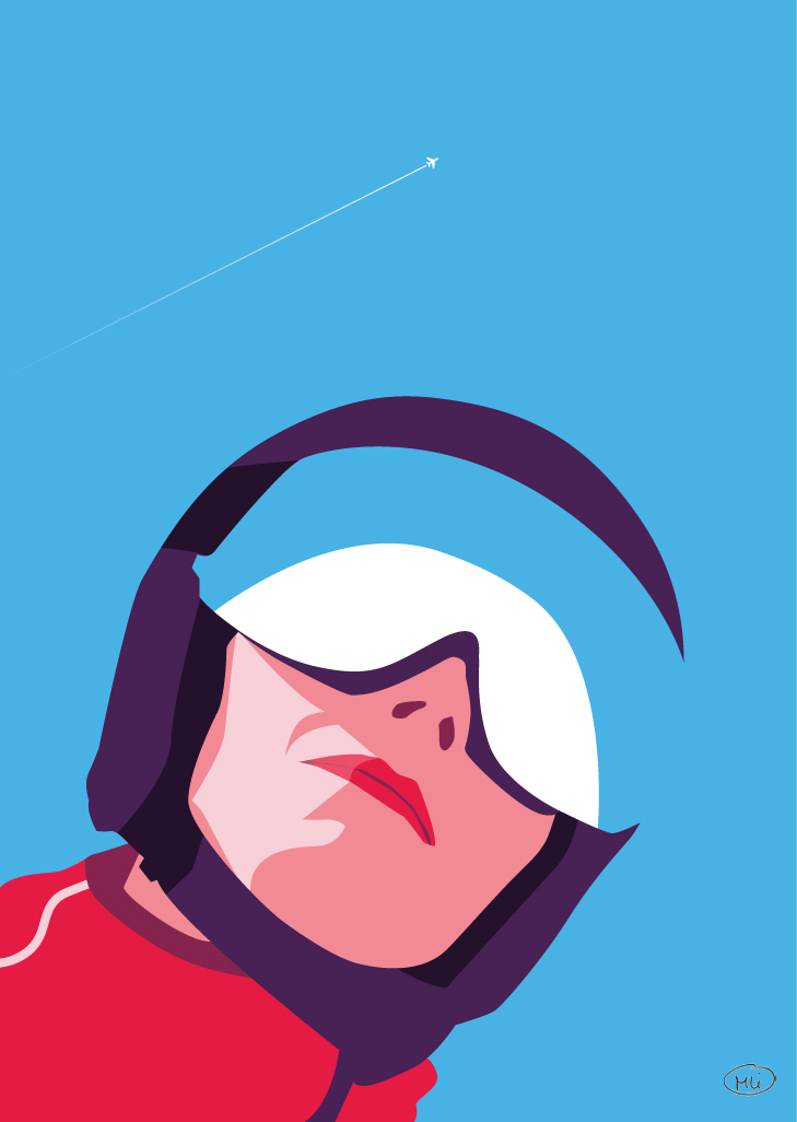 Ski illustrations