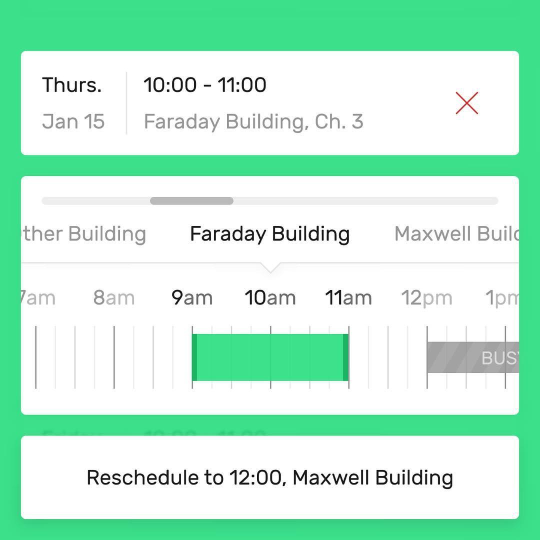 Evaline iOS app