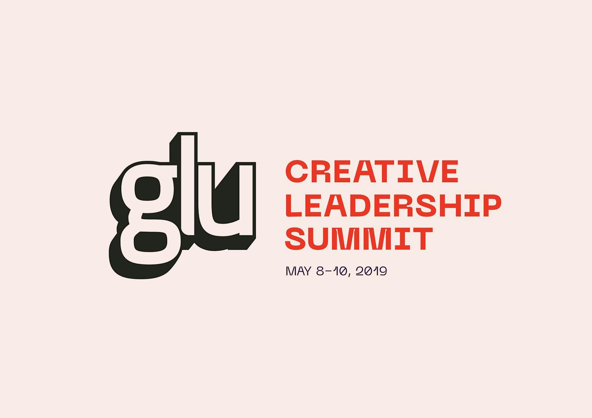 Glu Creative Summit brand identity