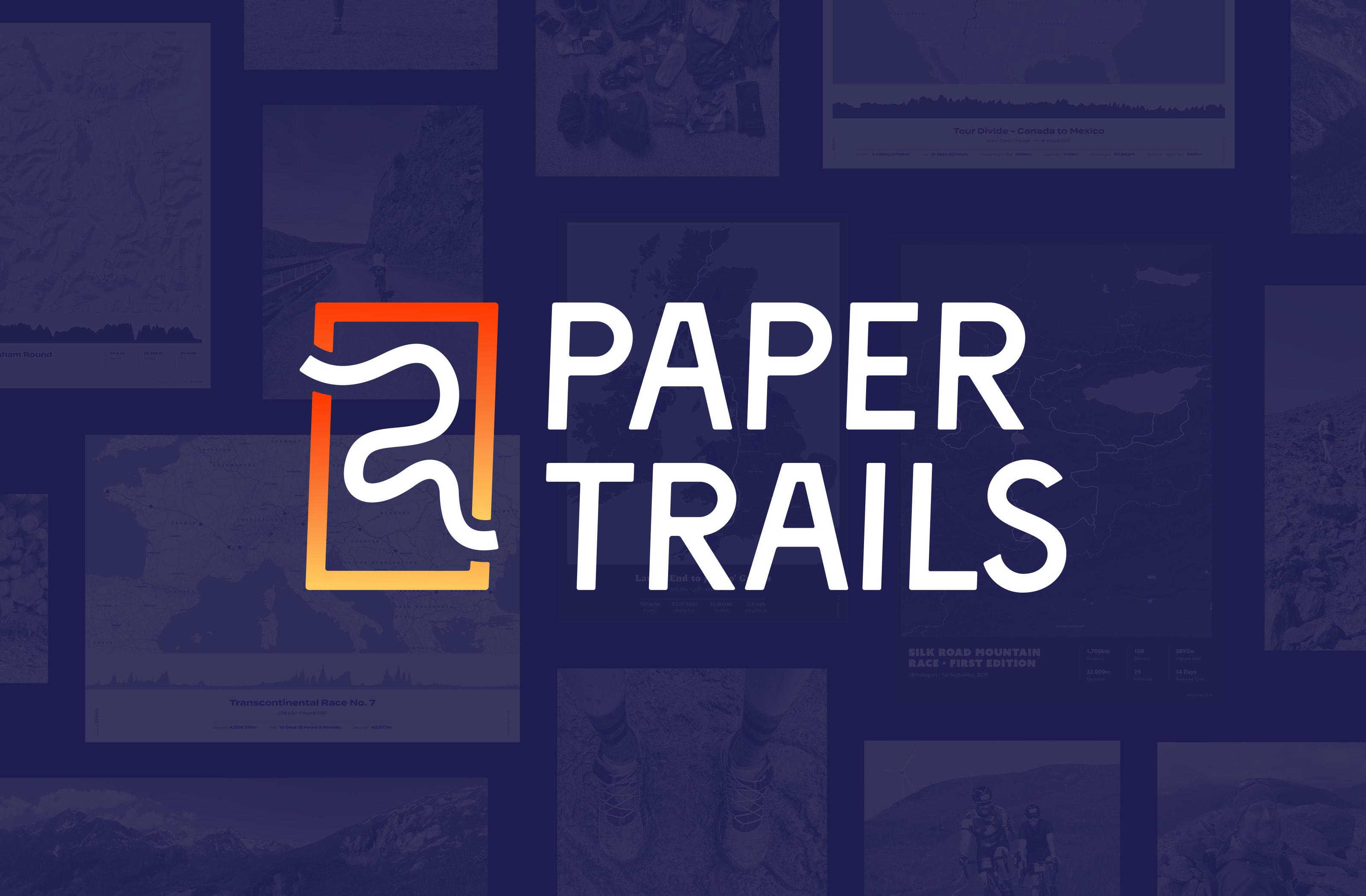 Paper Trails branding