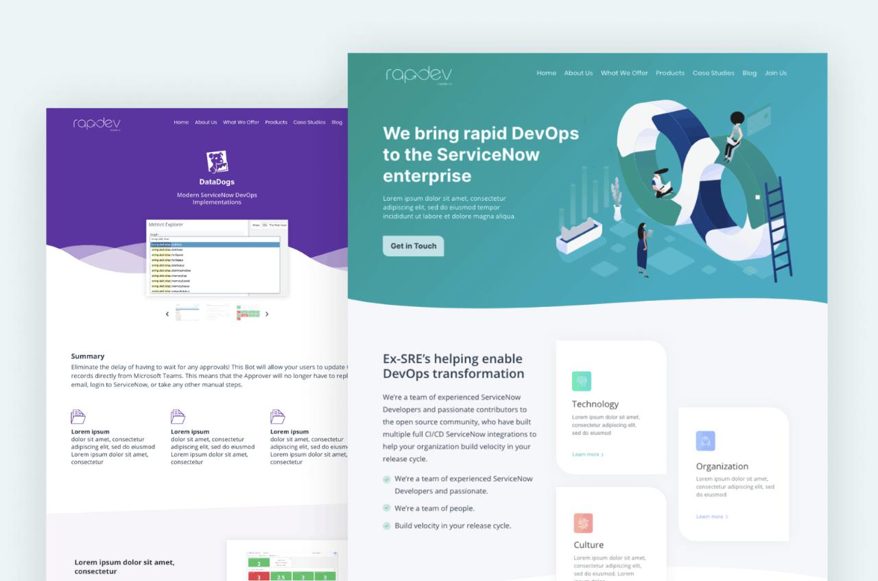 Rapdev.io website