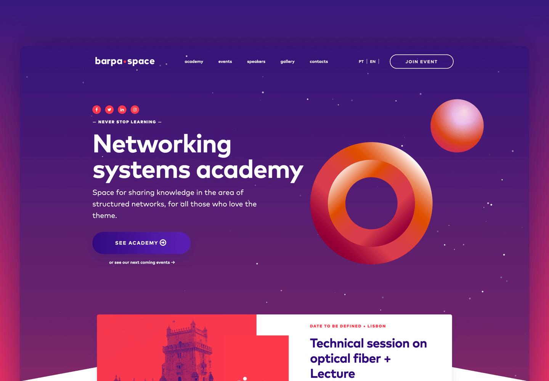 Barpa Space Academy website