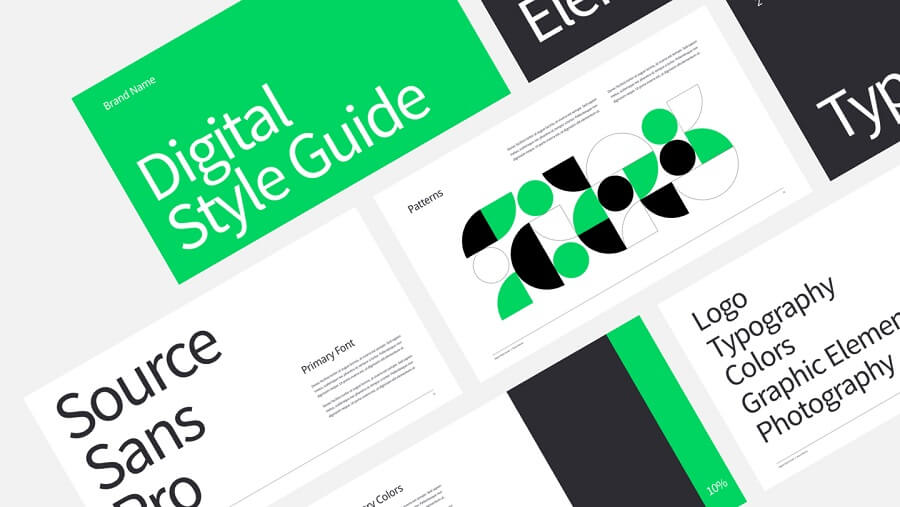 Bold brand guidelines