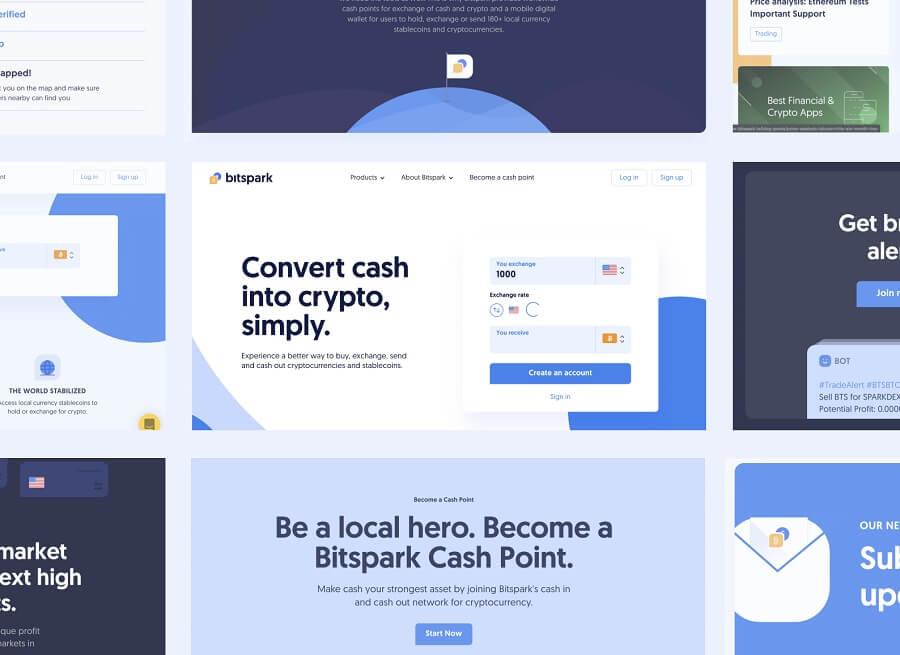 Bitspark website