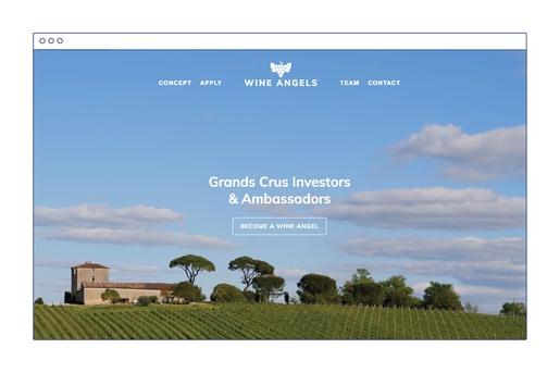Wine Angels website