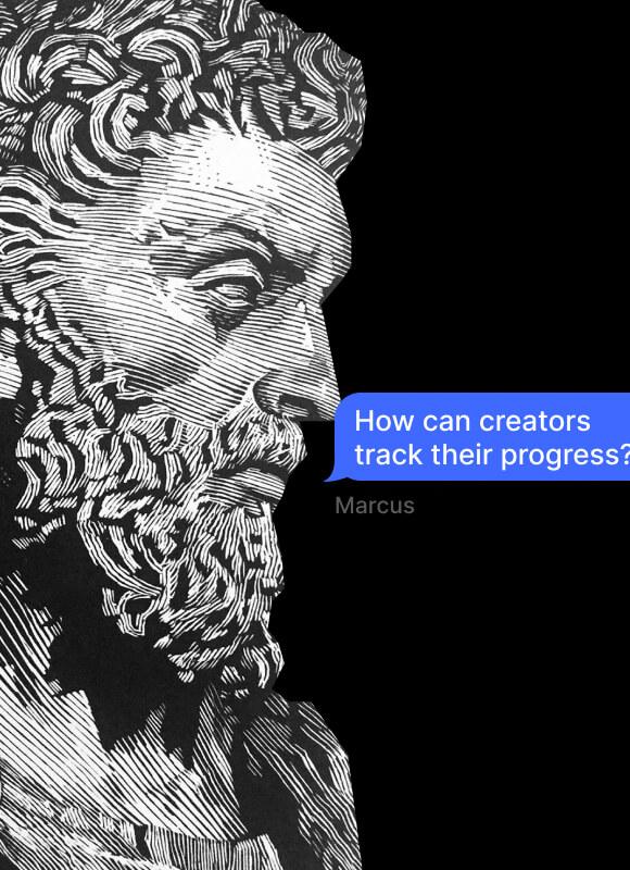 Creator metrics: Input, Output, Outcome