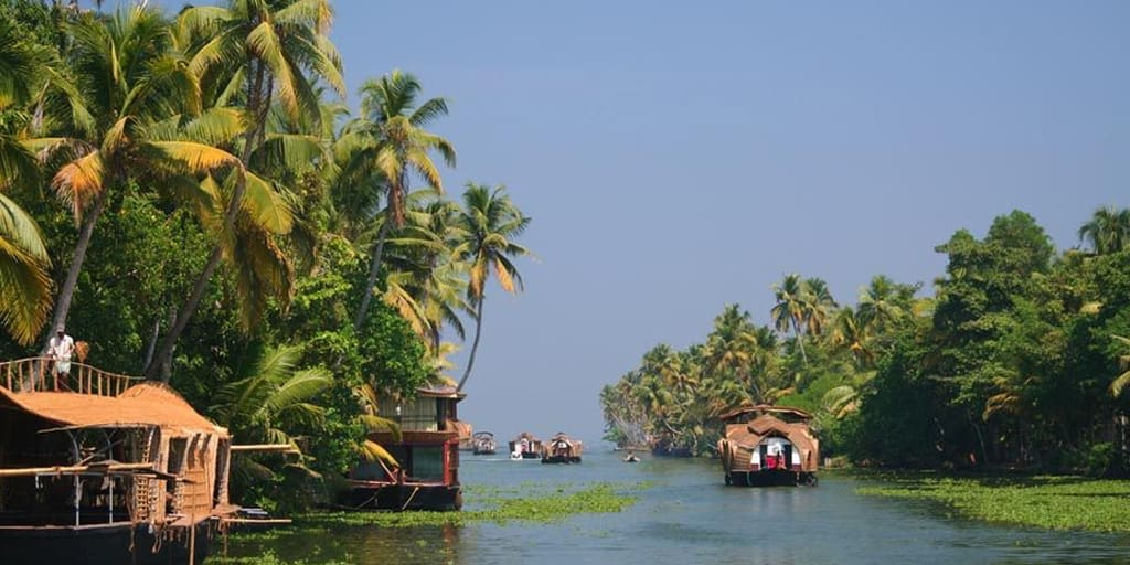 places to visit in January in India - Kerala