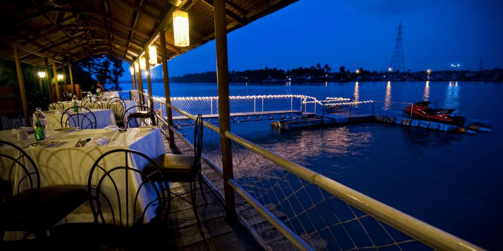 Fishermans Wharf in Goa