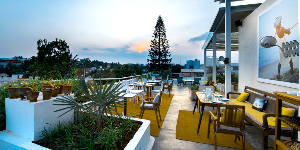 Romantic restaurants in Bangalore - Om-made-cafe
