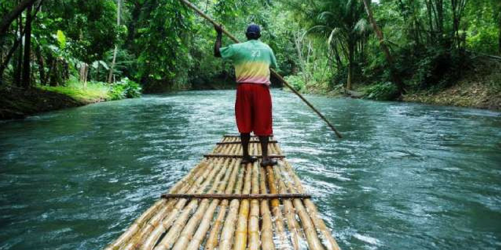 Things to do in Wayanad - bamboo Rafting