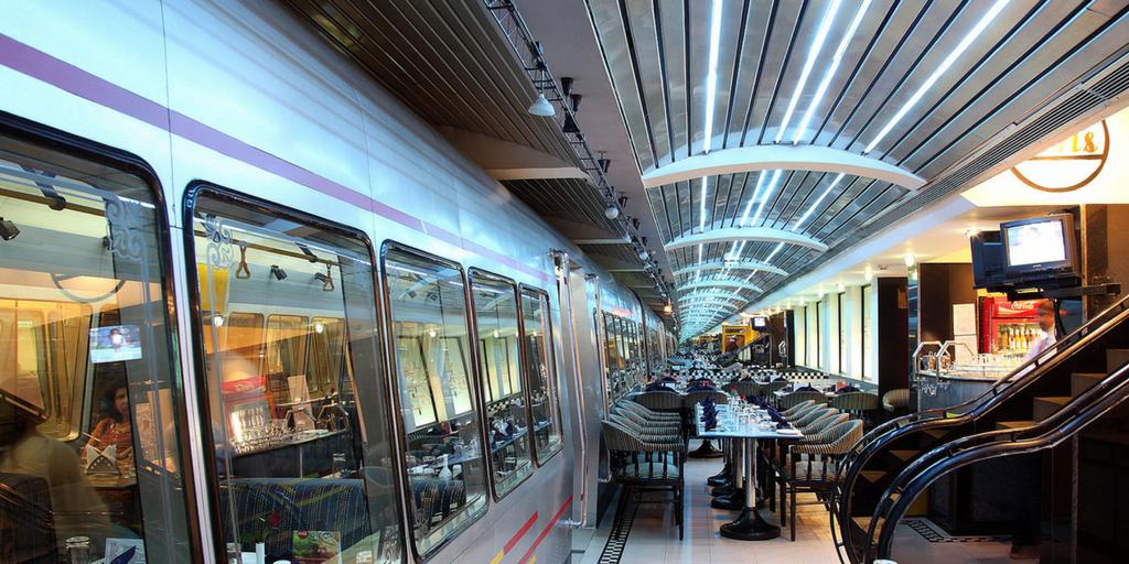 Silver metro theme restaurants in Bangalore