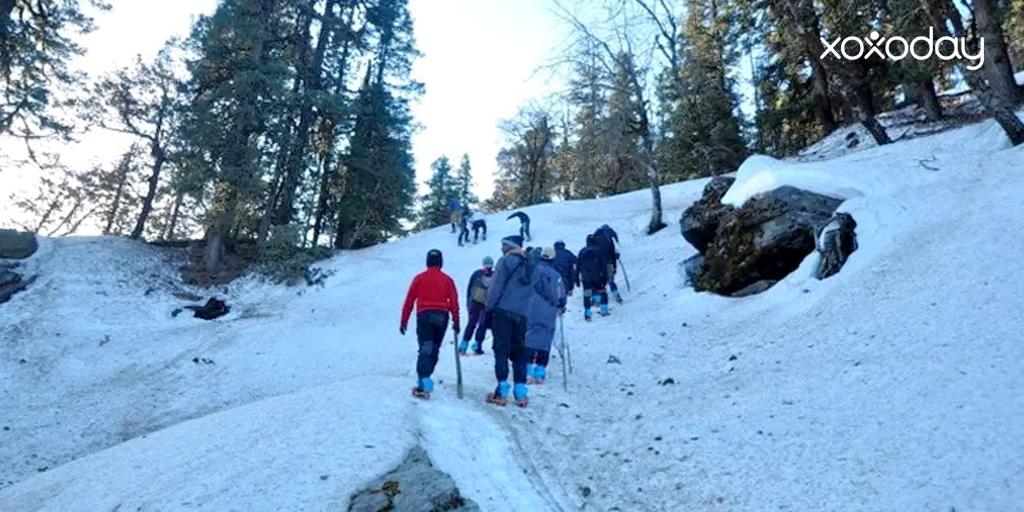 Himalayan trekking-Kedarkantha