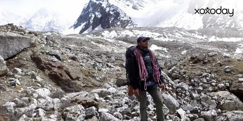 Himalayan trekking Bagini Glacier