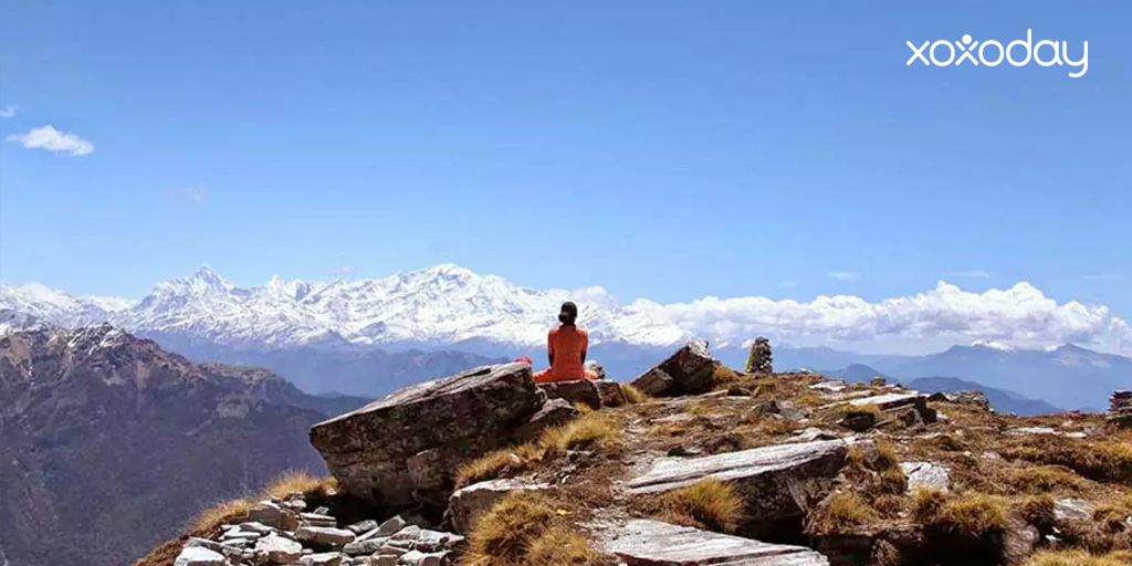 Himalayan trekking - chopta trek