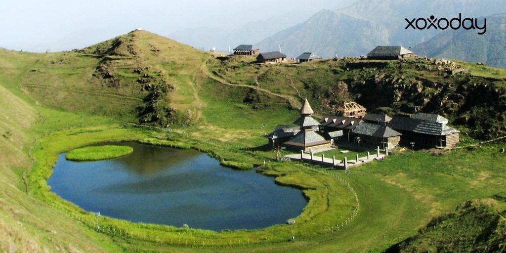 Himalayan trekking-Prashar Lake