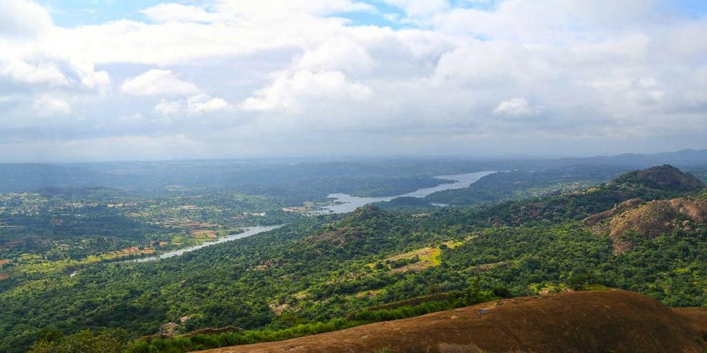 weekend getaways from Bangalore - savandurga
