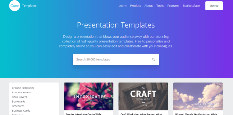 Canva Tool For Presentation