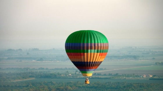 Hot Air Balloon: Things to do in Delhi