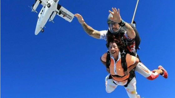 Sky Diving: Things to do in Delhi