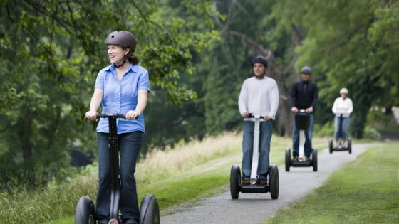 Segway: Things to do in Delhi