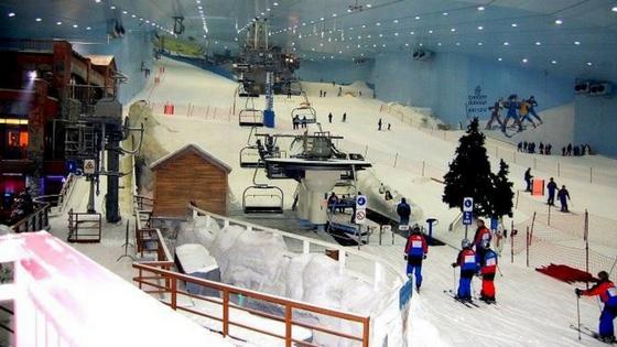Ski India in DLF: Things to do in Delhi