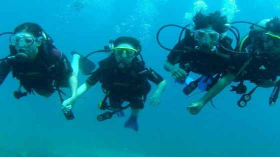 Scuba Diving: Things to do in Delhi