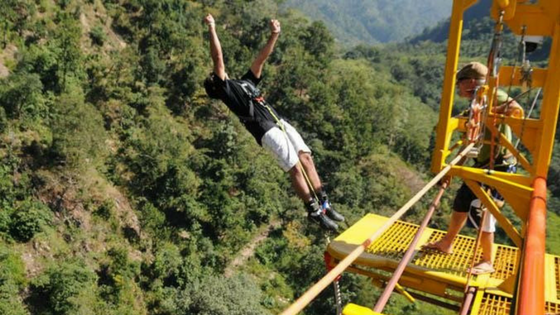 Bungee Jumping: Things to do in Delhi