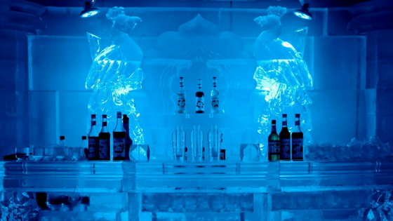 Ice Lounge: Things to do in Delhi