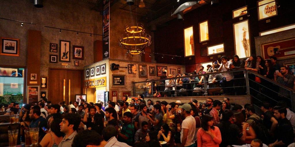 Mumbai nightlife - Hard Rock Cafe