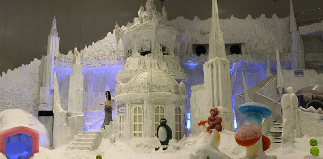 Snow city- Things to do in Bangalore