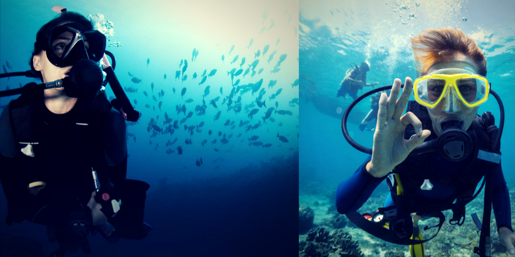 adventure sports in Bangalore scuba diving