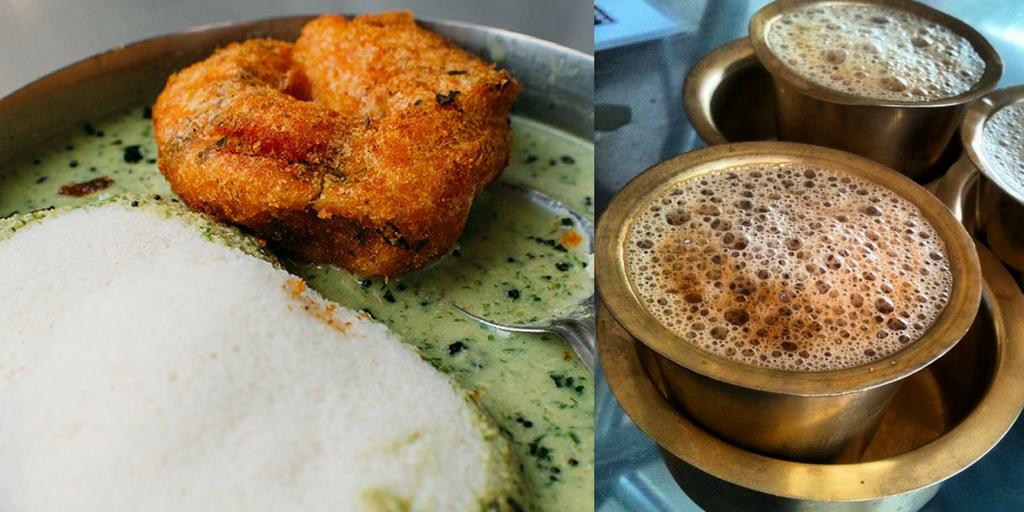 street food joints in bangalore brahmin's coffee bar