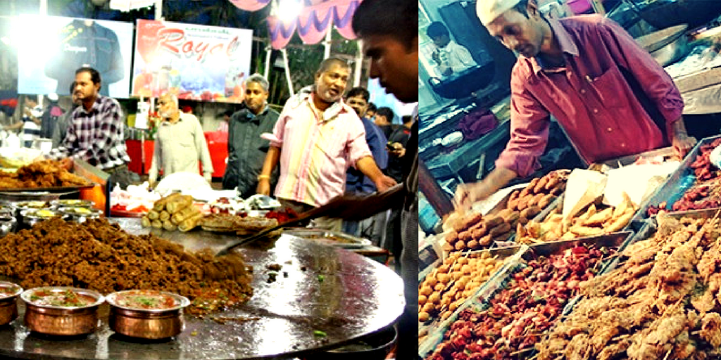 street food joints in bangalore frazer town