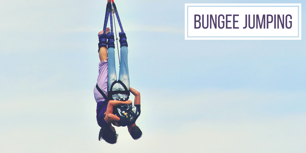 adventurous proposal ideas bungee jumping